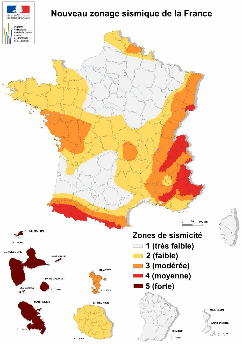 Seismic risk in France and regulations - ISTerre - Institut